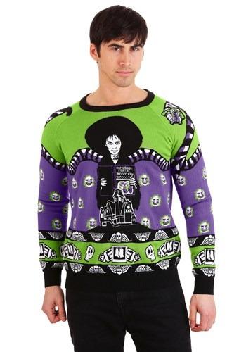 Adult Beetlejuice Lydia Deetz Halloween Sweater