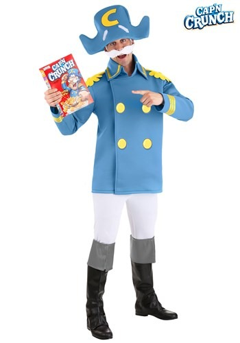 Adult Cap'n Crunch Costume