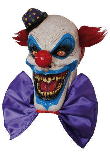 Scary Chompo the Clown Mask Costume