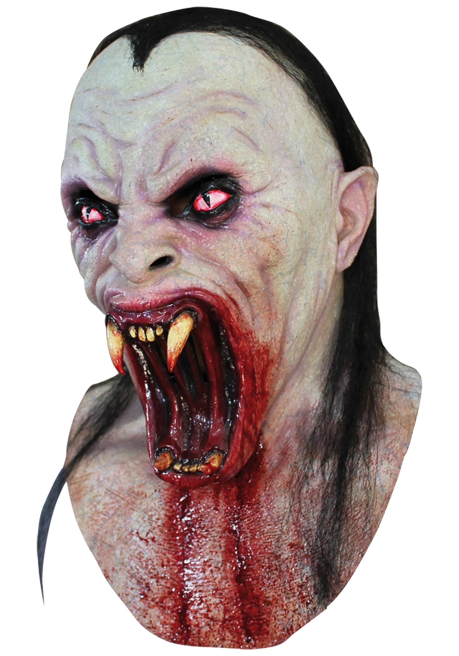 viper vampire mask - Scary Vampire Halloween Costumes