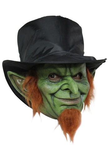 Click Here to buy Mad Goblin Mask Costume - Scary Leprechaun Mask from HalloweenCostumes, CDN Funds