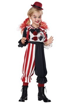 Toddler Creepy Clown Kid Costume