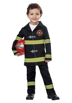 Toddler Jr Fire Chief Costume