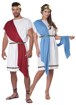 Adult Party Toga Costume