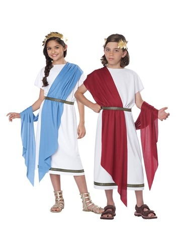 Kids Grecian Toga Costume update1
