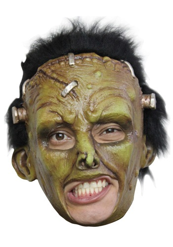 Click Here to buy Deluxe Frankie Mask - Frankenstein Costume Ideas from HalloweenCostumes, CDN Funds