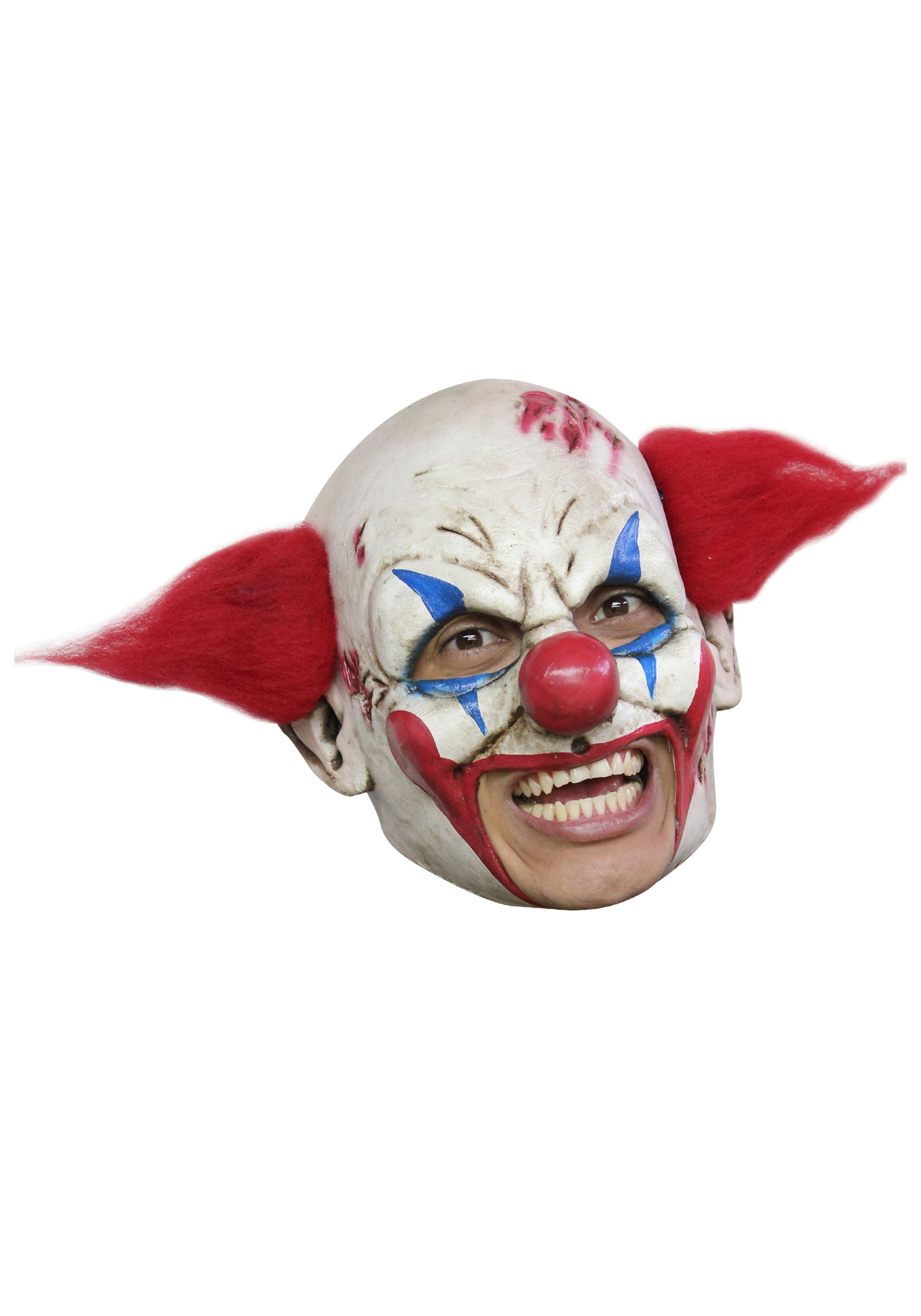 Deluxe Evil Clown Mask Scary Halloween Clown Masks