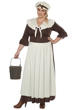 Colonial Village Women Plus Costume