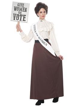 Women's English Suffragette Costume