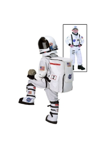 Click Here to buy Kids Astronaut Costume from HalloweenCostumes, USA Funds & Shipping