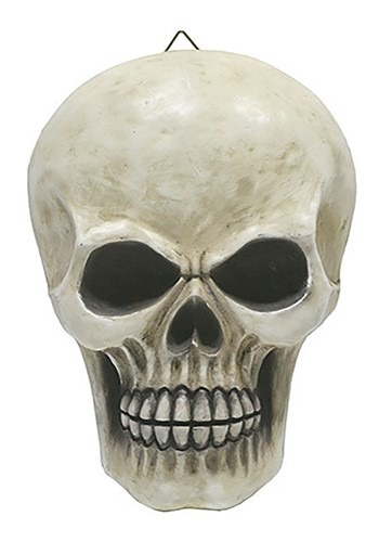 Resin Skull Hanging Halloween Decoration