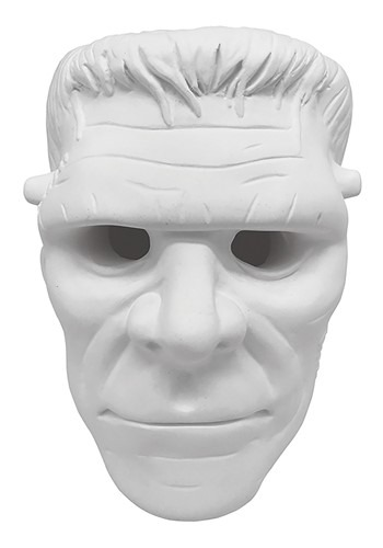 DIY Plaster Frankensteinl Tabletop Halloween Decor