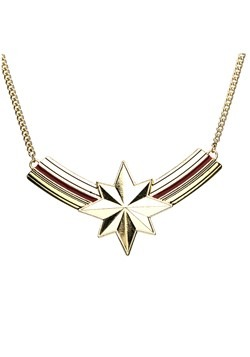 Bib Captain Marvel Necklace