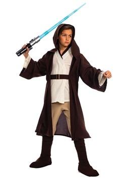 Obi-Wan Kenobi Costume Star Wars The Clone Wars Child Boys Jedi Knight Halloween