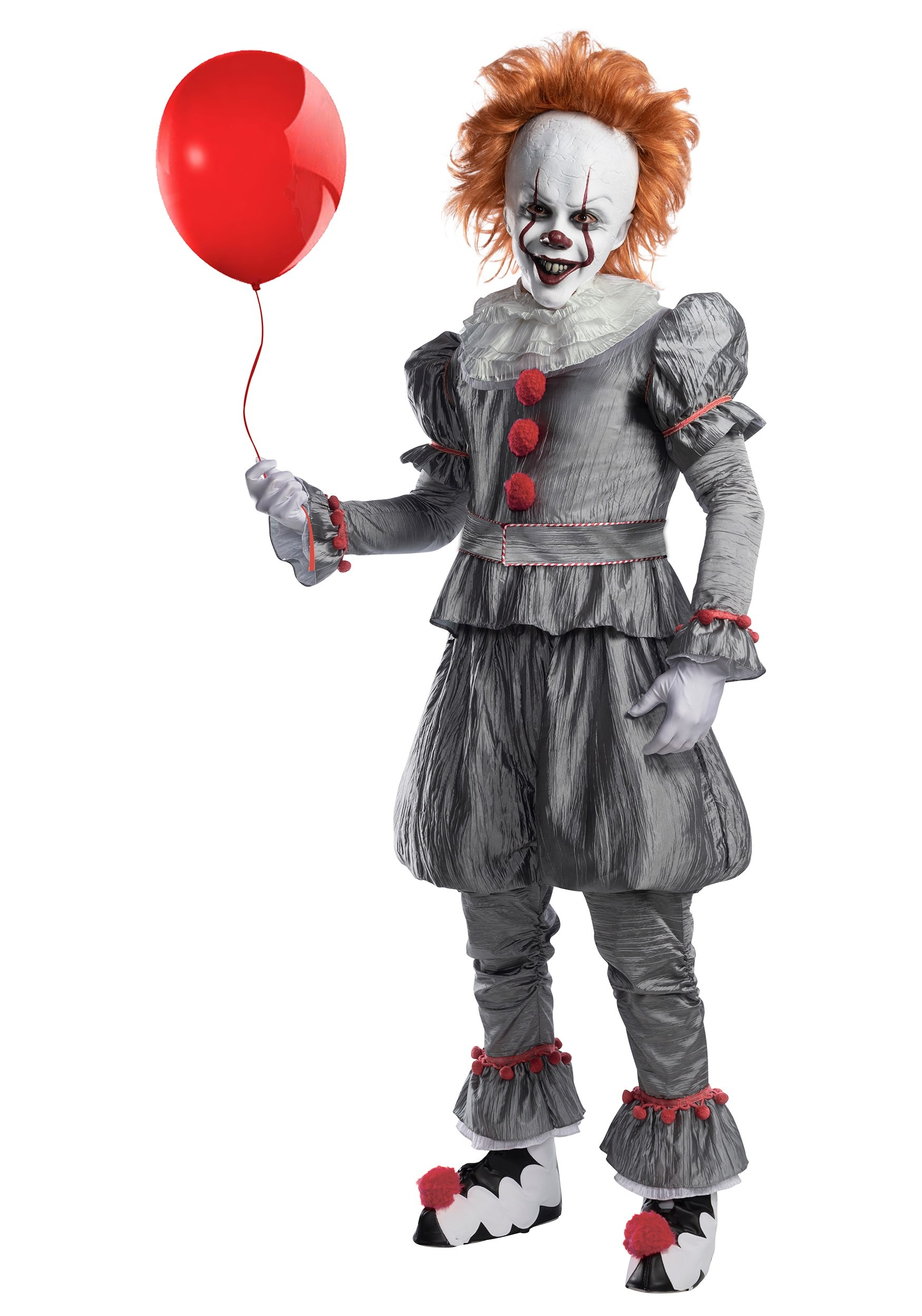 Pennywise costume kids pennywise it costume cosplay baby pennywise clown dress kids toddler costume baby clown costume Halloween costume