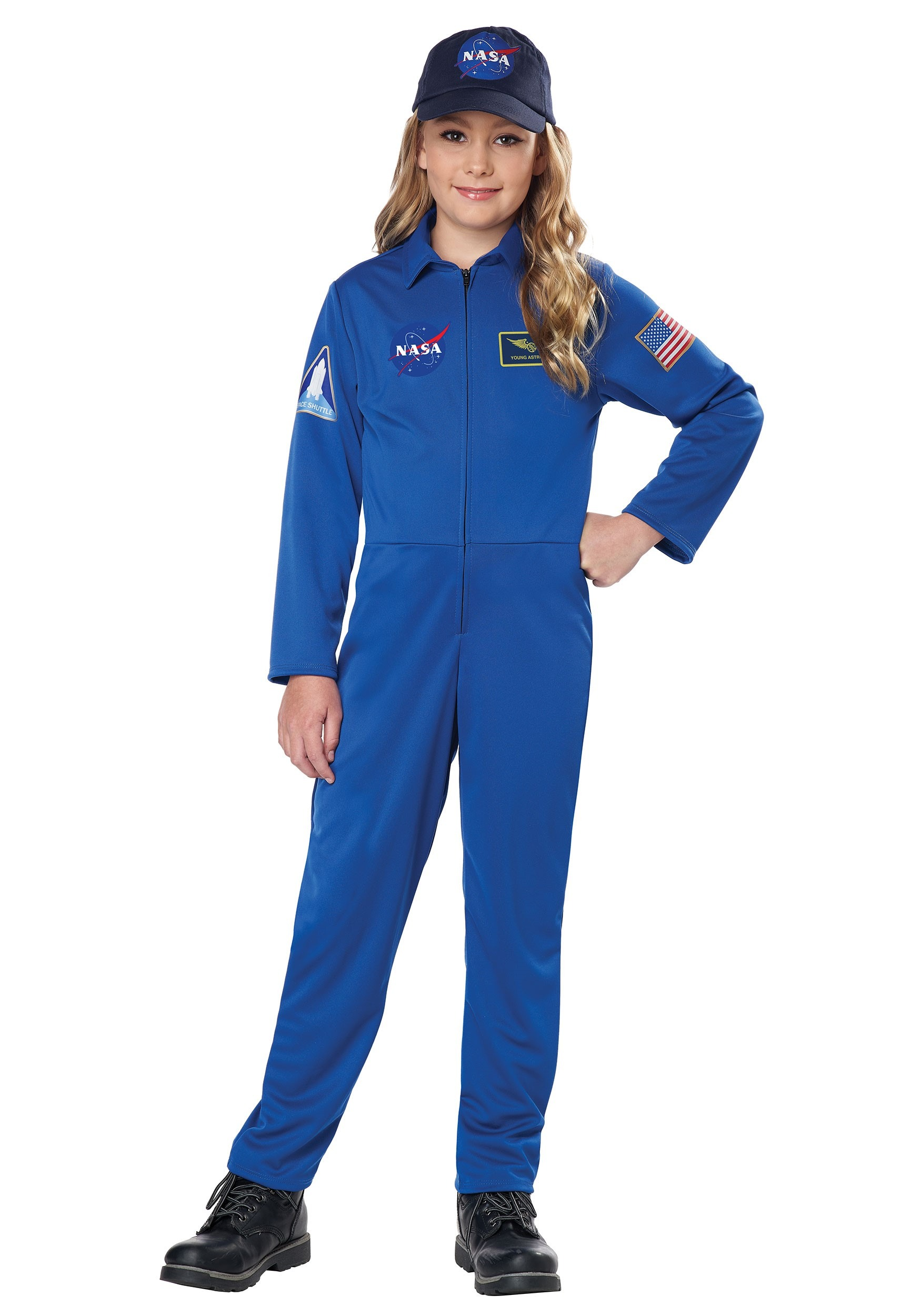 Adult Orange Astronaut Nasa Jumpsuit Mens Space Shuttle Suit Costume Aviation
