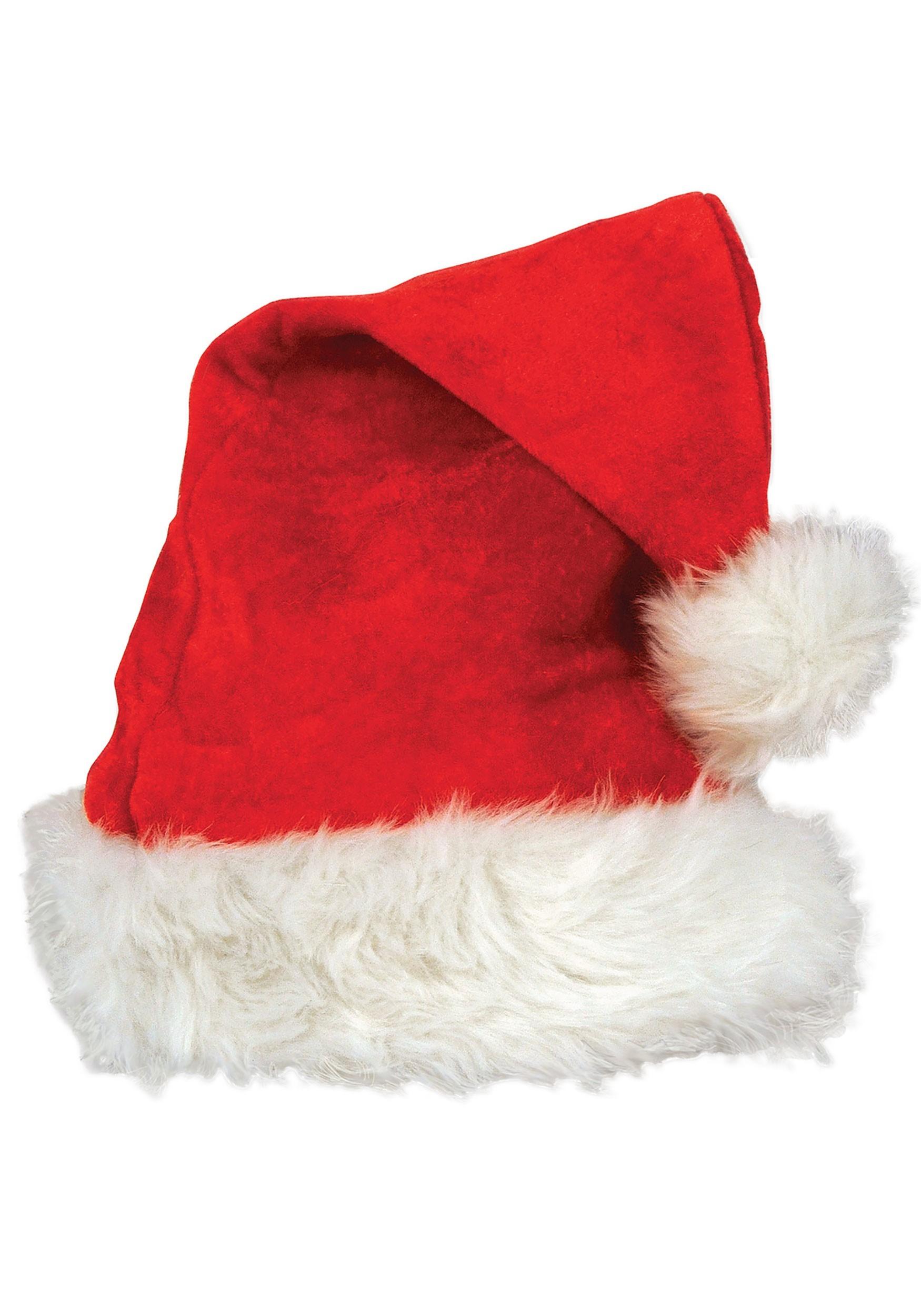 red deluxe velvet santa hat deluxe red velvet santa hat