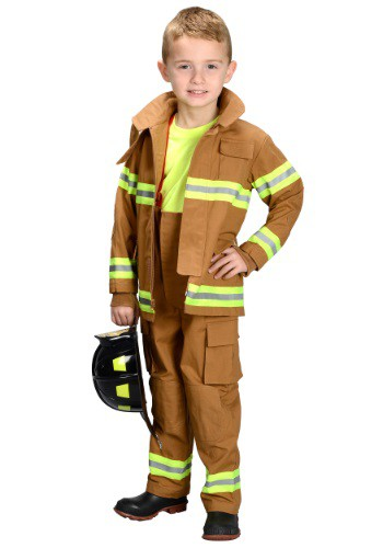 Kids Firefighter Costume