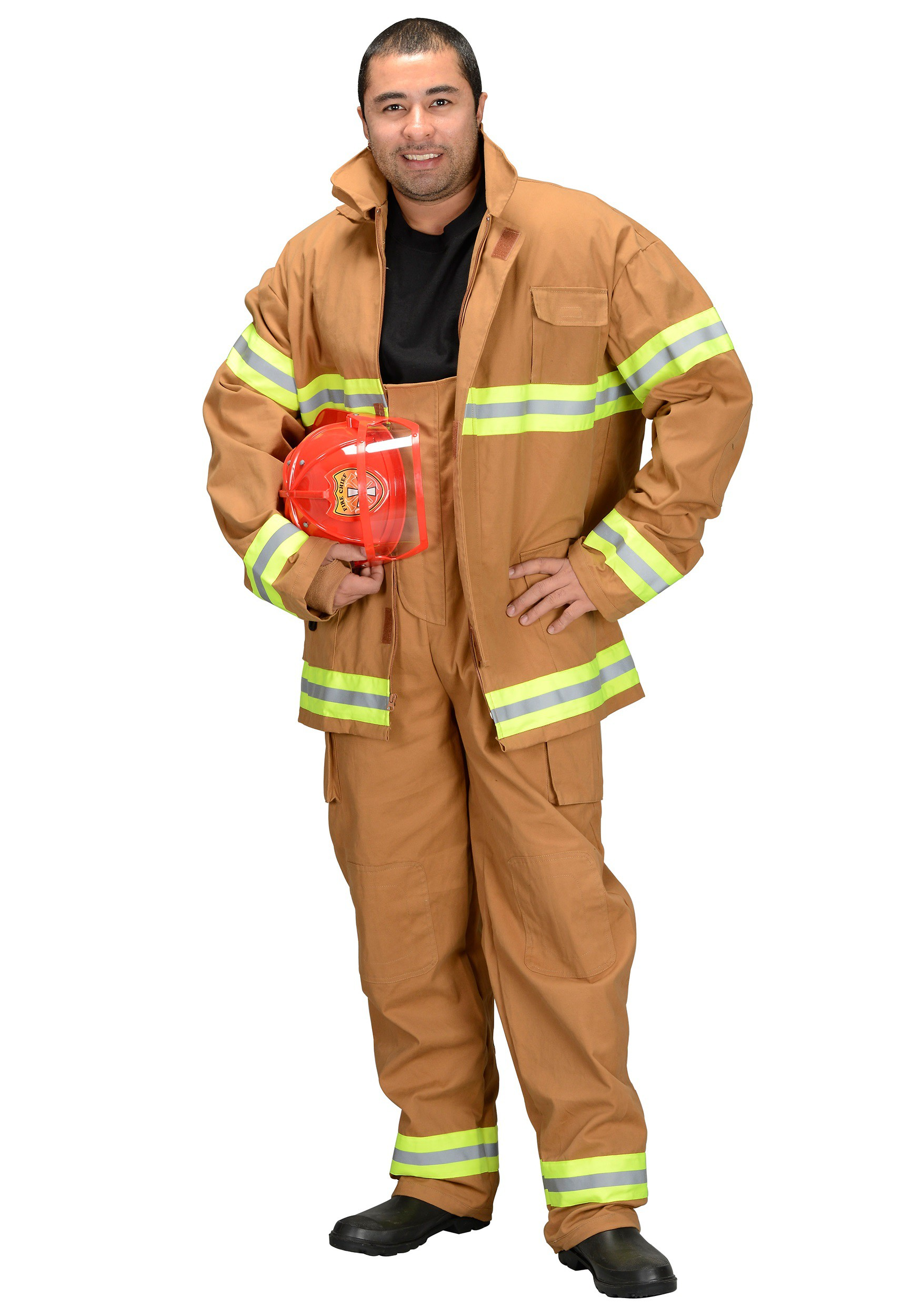 adult firefighter costume - Fireman Halloween