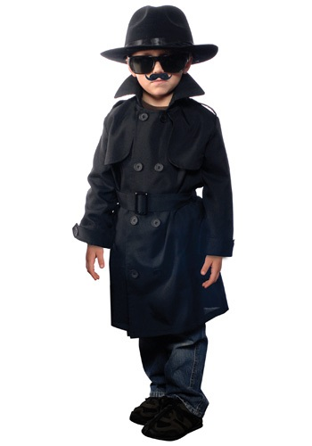 Click Here to buy Kids Secret Agent Costume from HalloweenCostumes, CDN Funds