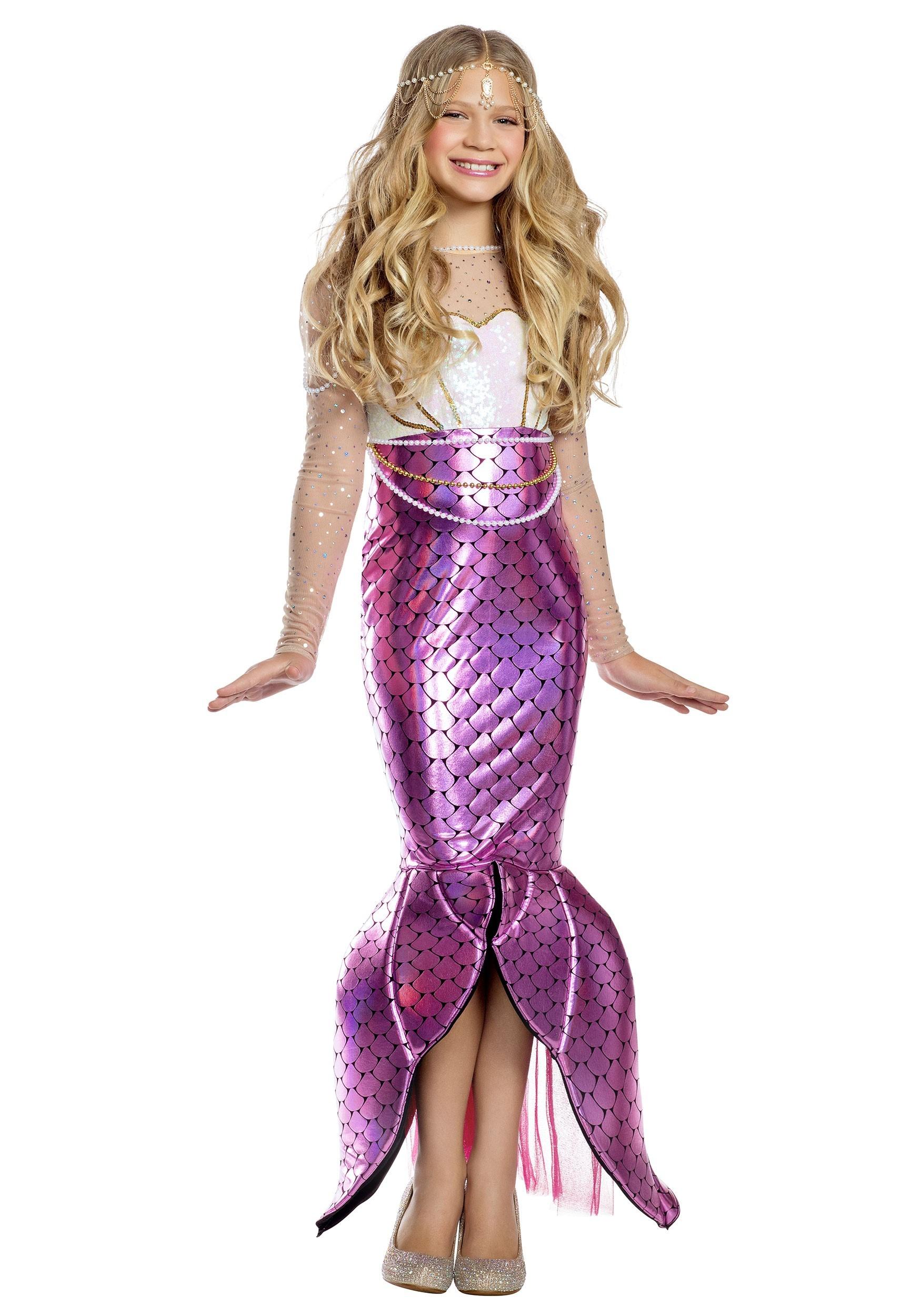 Blushing Beauty Mermaid Girl S Costume