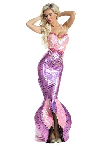 Women's Blushing Beauty Mermaid Costume