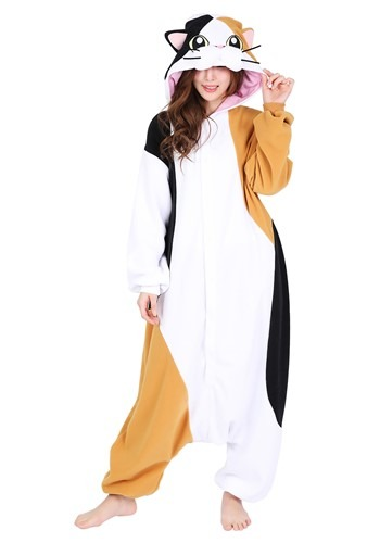 Click Here to buy Adults Calico Cat Kigurumi from HalloweenCostumes, CDN Funds