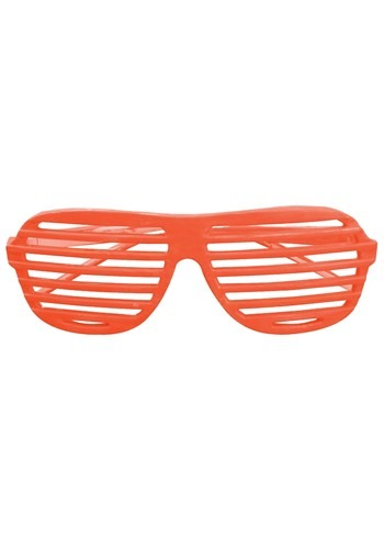 Orange 80's Shudder Shades new