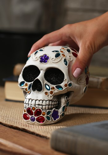 Decorative Jeweled Sugar Skull Update