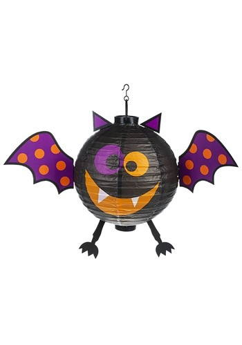 Halloween Colorful Bat Lantern