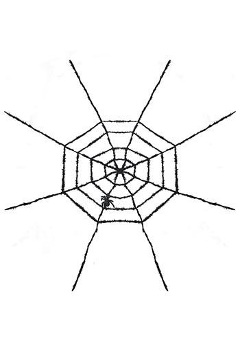 Spider Web Light Up Halloween Decoration