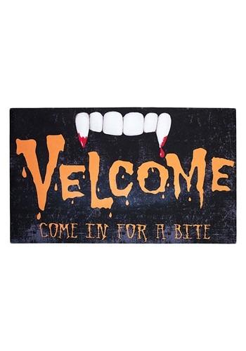 Velcome Vampire Floor Mat Halloween Decoration