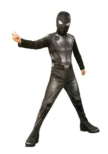 Far From Home Spider-Man Kids Classic Stealth Suit Costume