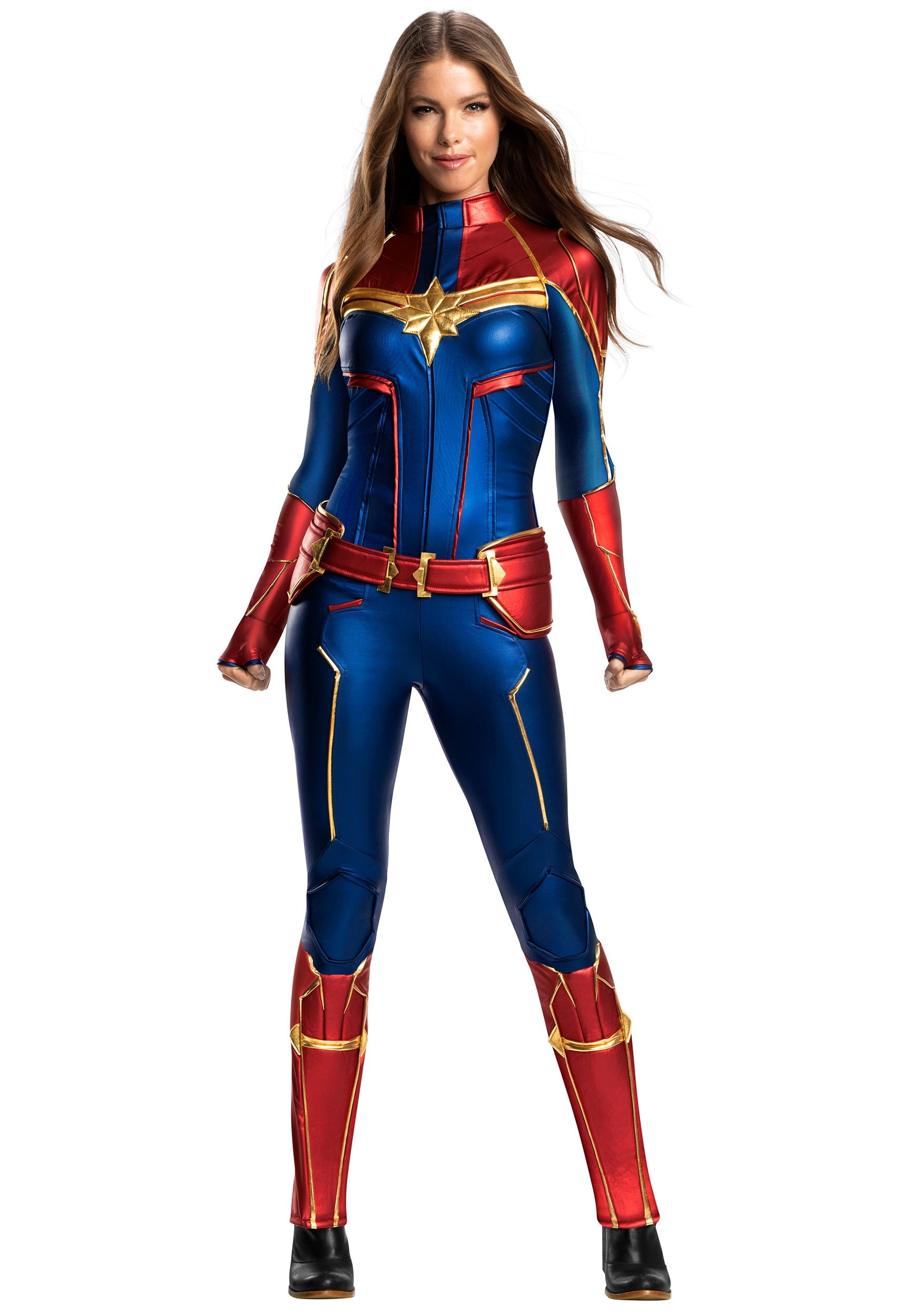 Captain Marvel Grand Heritage Costume For Women Get your courageous youngster ready for epic adventures as one of the universe's most powerful heroes in this awesome costume inspired by the forthcoming blockbuster, marvel's captain you may experience issues while visiting marvel shop with your current web browser version/configuration. women s captain marvel grand heritage costume