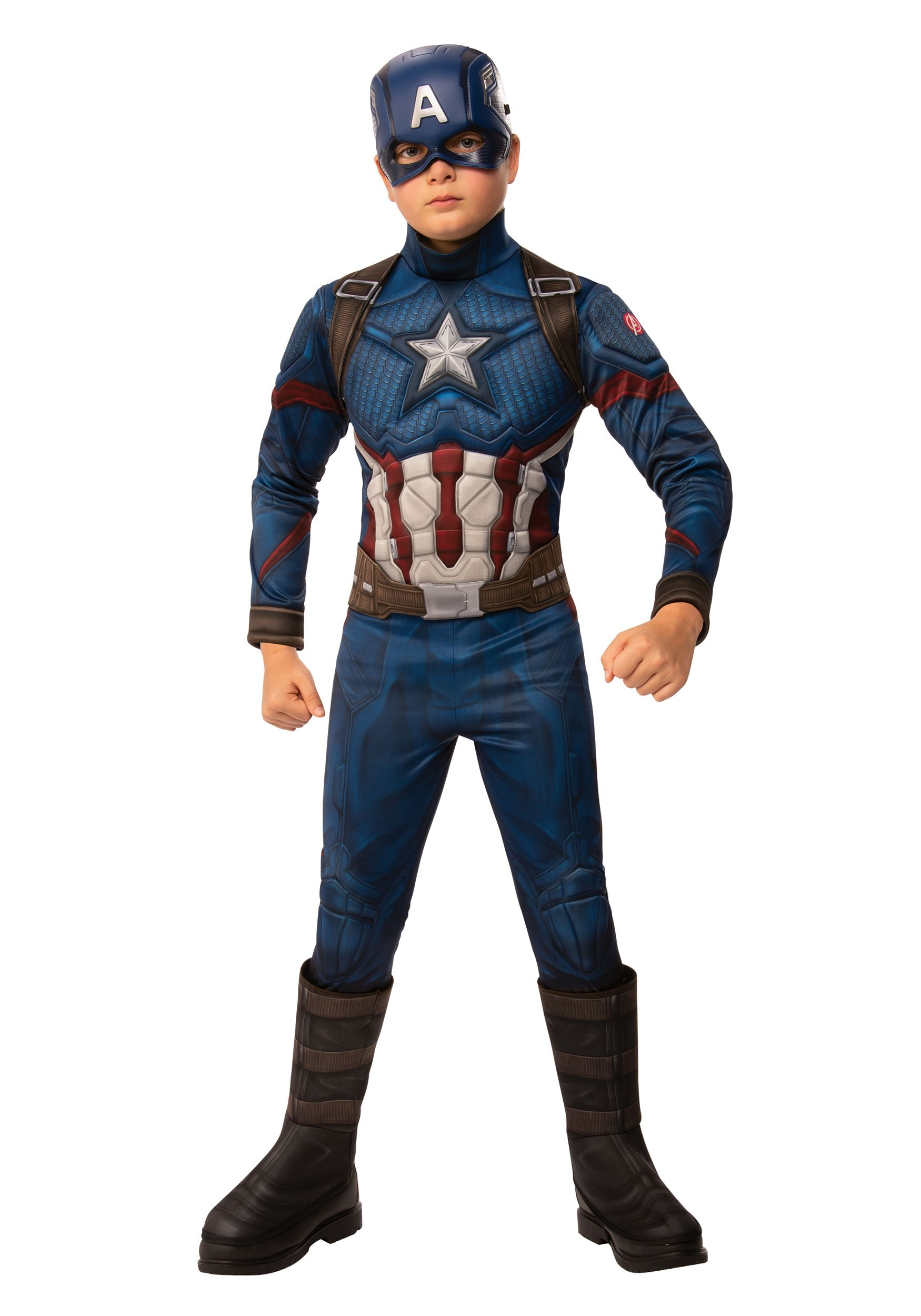 Captain America Gloves Adult The Avengers Costume Halloween Fancy Dress