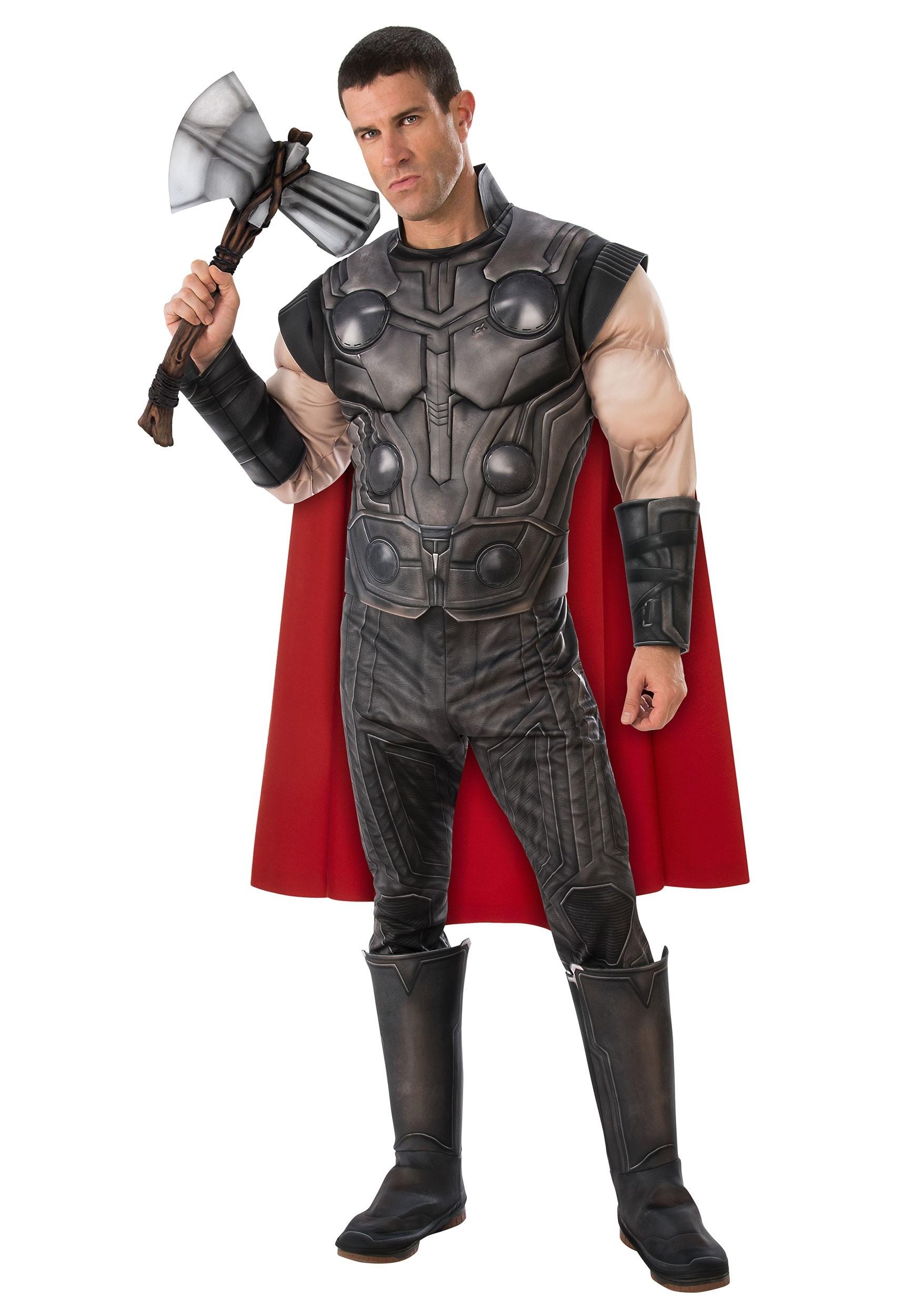 Deluxe Avengers Endgame Thor Costume for Men