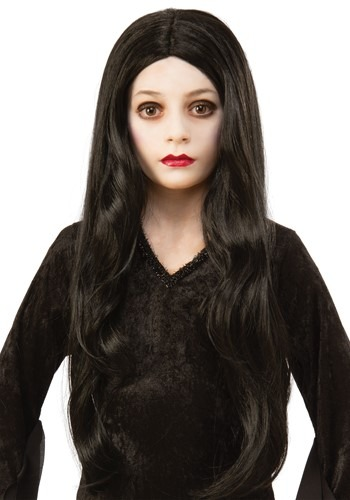 The Addams Family Child Morticia Wig Accessory