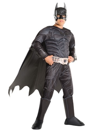 Click Here to buy Kidss Batman Dark Knight Deluxe Costume from HalloweenCostumes, CDN Funds