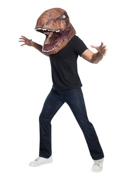 Jurassic World Adult Inflatable T-Rex Head Mask Image Update