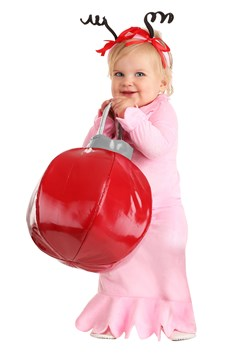 Infant Girl Classic Christmas Costume