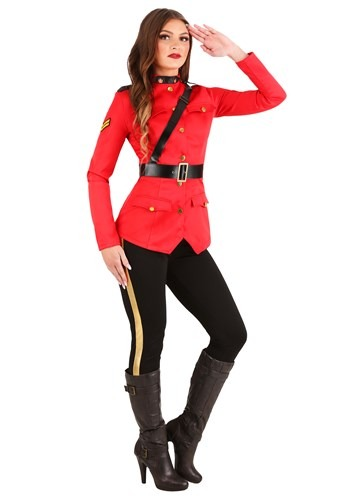 RCMP Canadian Mountie Costume for Women