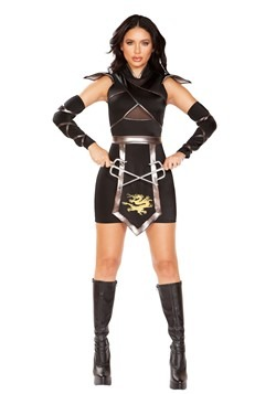 Deluxe Sexy Ninja Warrior Women's Costume