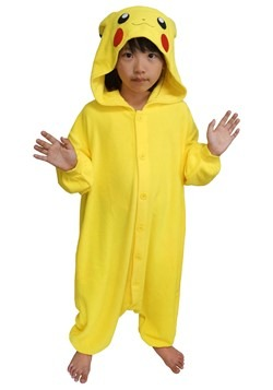 Pokemon Child Pikachu Kigurumi