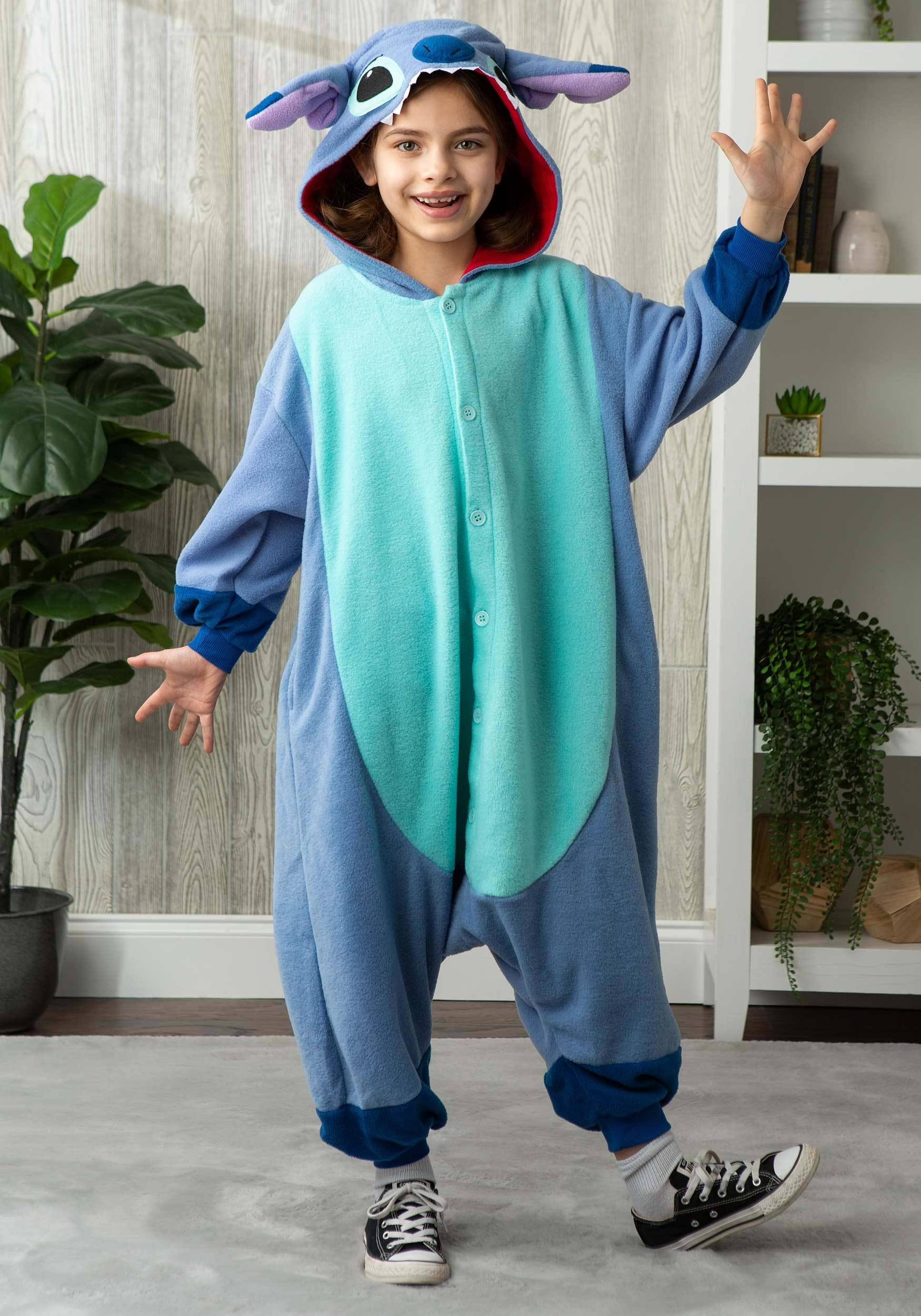 abee1dece20 Disney Lilo and Stitch Kids Stitch Kigurumi