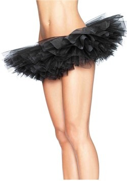 Women's Black Organza Tutu