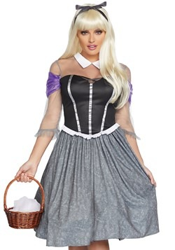 Womens Peasant Sleeping Princess Costume