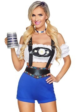 Womens Lederhosen Honey Costume