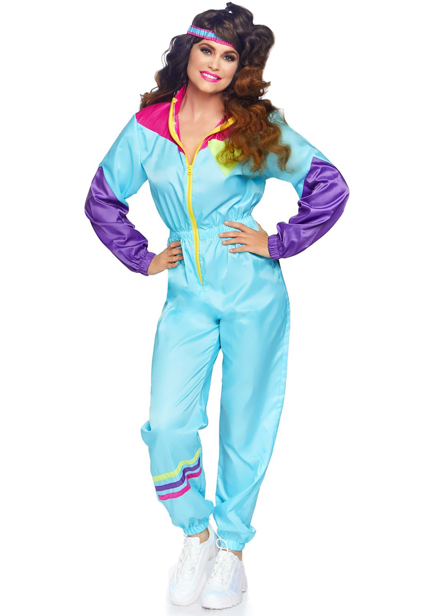 awesome 80s ski suit costume for women