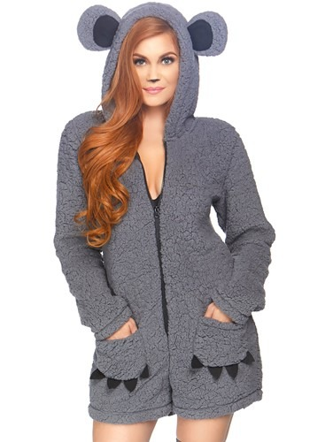Womens Cuddle Koala Costume