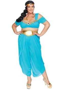Womens Plus Sexy Desert Princess Costume